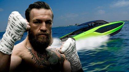 Mcgregor tiene nuevo vehículo acuático