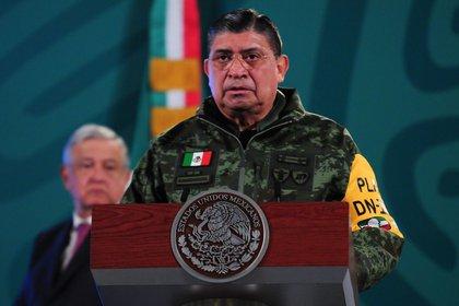 El secretario de Defensa, Luis Cresencio Sandoval (FOTO: DANIEL AUGUSTO /CUARTOSCURO)