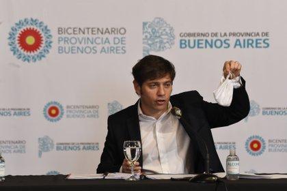 El gobernador de Buenos Aires, Axel Kicillof, dialogó con los expertos que lo vienen asesorando desde el comienzo de la pandemia (Aglaplata)