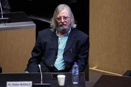 El profesor Didier Raoult, fue muy cuestionado por sus elogios a la hidroxicloroquina - REUTERS/Gonzalo Fuentes