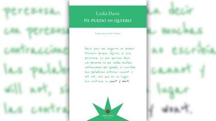 """Tapa de """"No puedo ni quiero"""" (Eterna Cadencia)"""