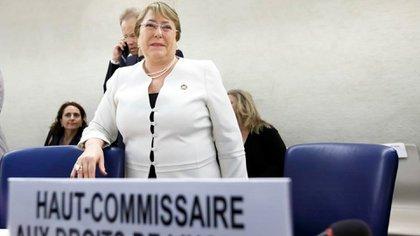 La Alta Comisionada de los Derechos Humanos de la ONU, Michelle Bachelet