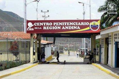 El centro penitenciario de la Región Andina en San Juan de Lagunillas, estado Mérida
