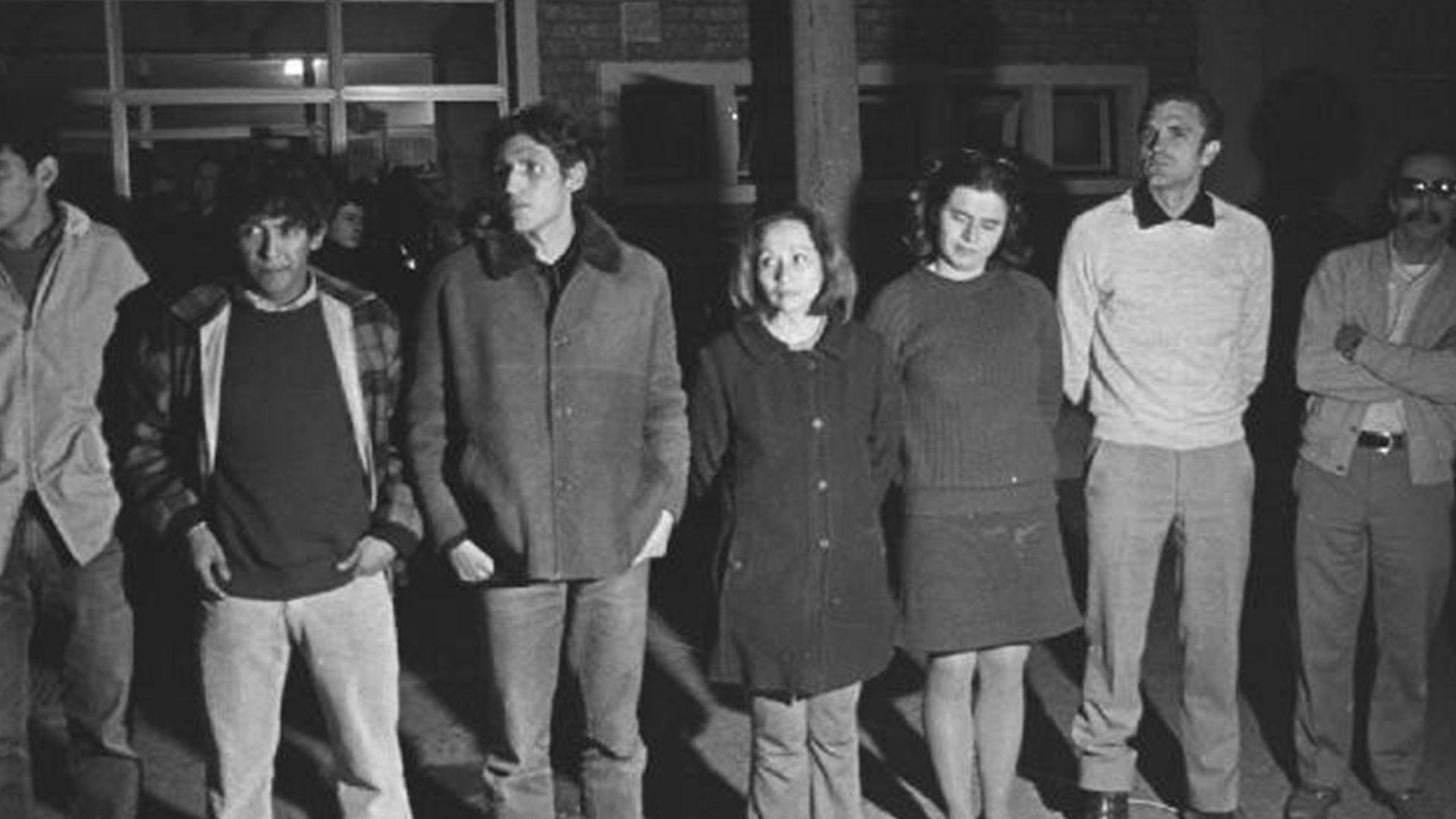 Los detenidos en el penal de Rawson