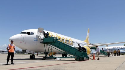 Un vuelo de Flybondi.