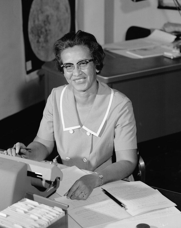 Los cálculos de Katherine Johnson fueron fundamentales en las primers misiones espaciales de la NASA