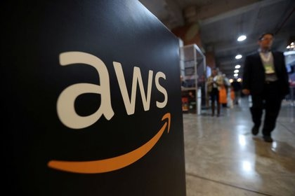 Imagen de archivo del logo de Amazon Web Services (AWS)