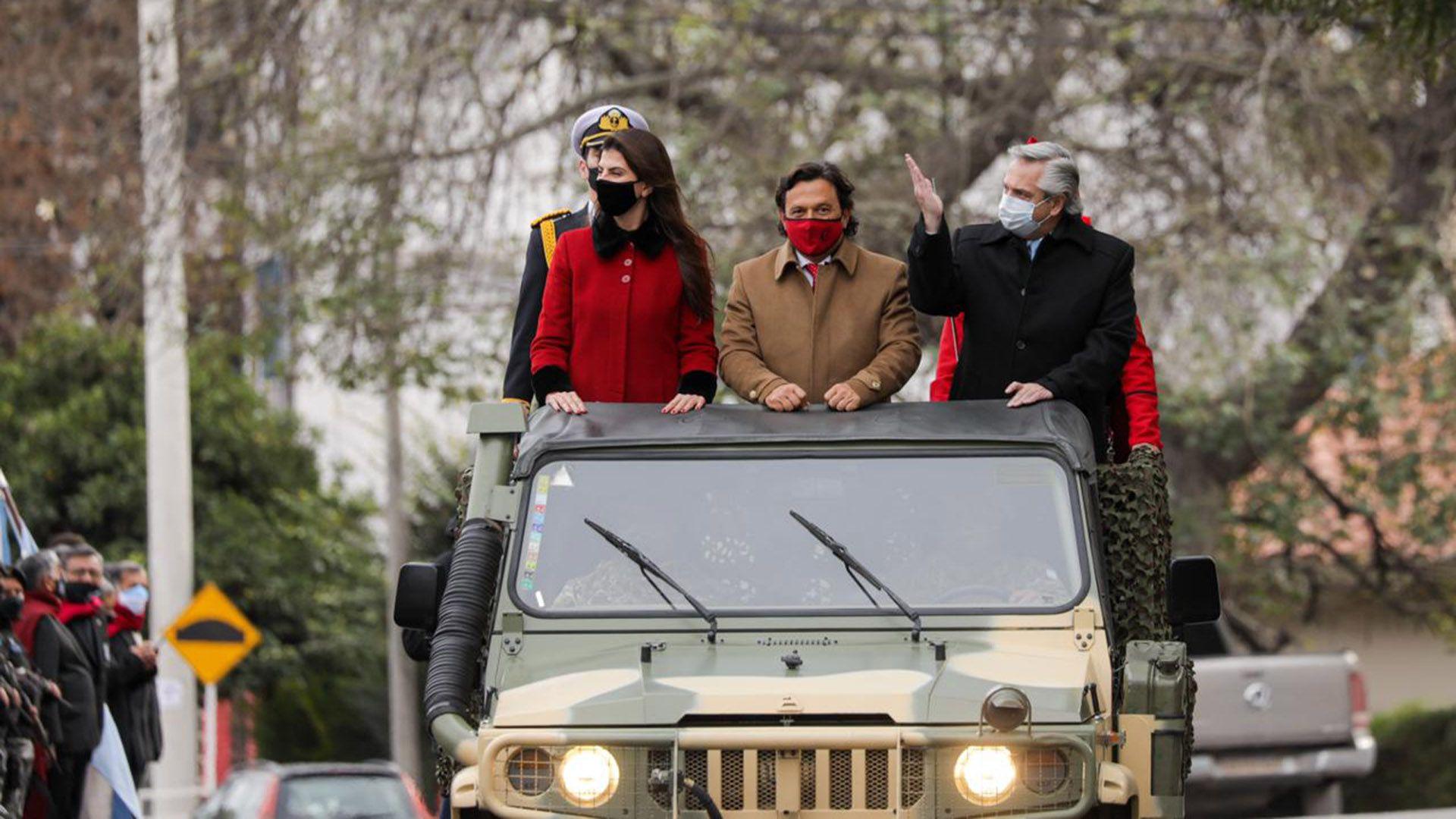 Alberto Fernández participó en Salta del homenaje al general Güemes