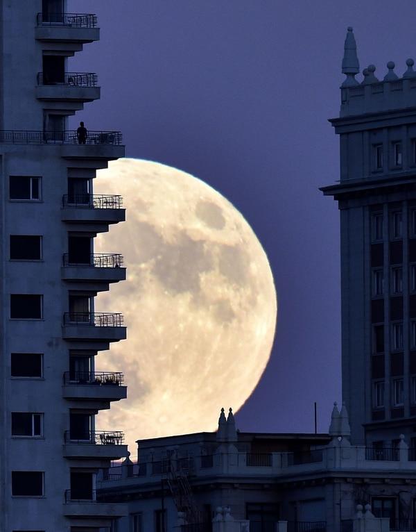 La superluna en noviembre de 2016