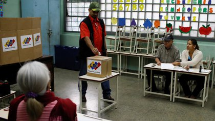 Imagen de las últimas elecciones en Venezuela