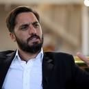 FILE PHOTO: Agustin Pichot, IRB World Rugby vice-president and former Argentina captain, speaks to Reuters in an interview in Buenos Aires, Argentina, May 2, 2017. REUTERS/Marcos Brindicci/File Photo