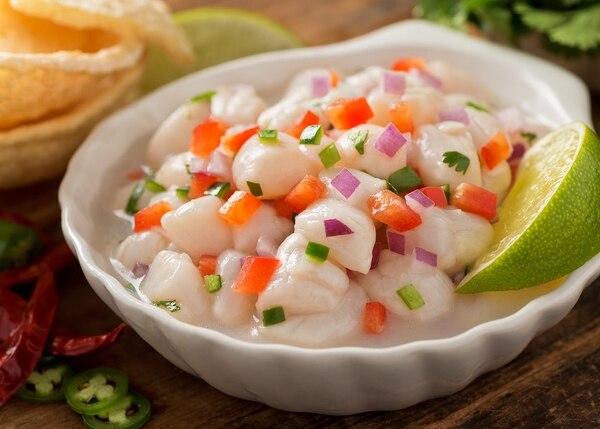 El ceviche es una de las comidas peruanas más tradicionales (Getty)