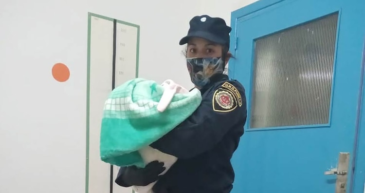 La bebé fue recuperada y se encuentra en perfecto estado de salud