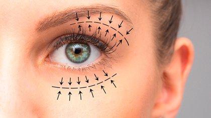 Con el uso recurrente del tapabocas, las miradas tomaron protagonismo y se empezaron a notar las imperfecciones en los ojos (Shutterstock)
