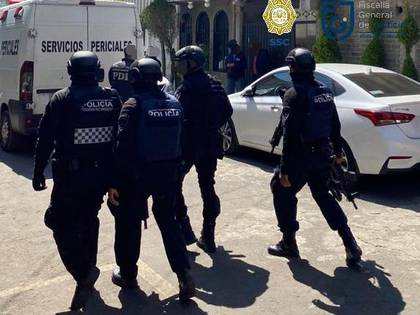 Un supuesto miembro de la banda criminal Los Guerreros fue detenido este viernes (Foto: Twitter)