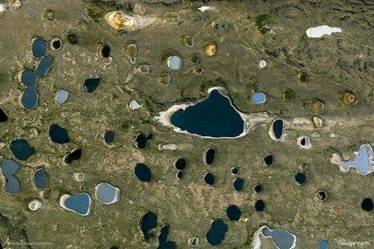 RÍO CHICO - Ubicado en la región patagónica central argentina, atraviesa las provincias de Río Negro y Chubut. Tiene una longitud de 300 kilómetros aproximadamente y era llamado Jamakán o Iámakan por los pueblos originarios