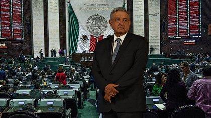 El mismo López Obrador urgió a los legisladores a aprobar las reformas para eliminar su inmunidad (Foto: Steve Allen/Infoabe)