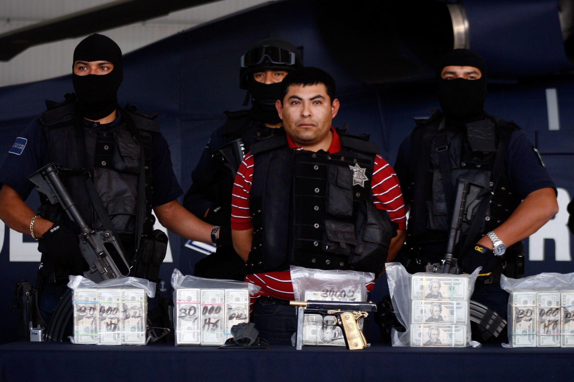 """Uno de los líderes y fundadores de Los Zeta, Jaime González Durán """"El Hummer"""", capturado en 2008 (Foto: Eduardo Jiménez/ Cuartoscuro)"""
