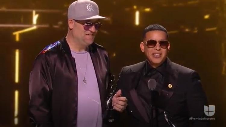 Daddy Yankee y Snow ganaron Canción del Año (Foto: Captura de pantalla - Univision)