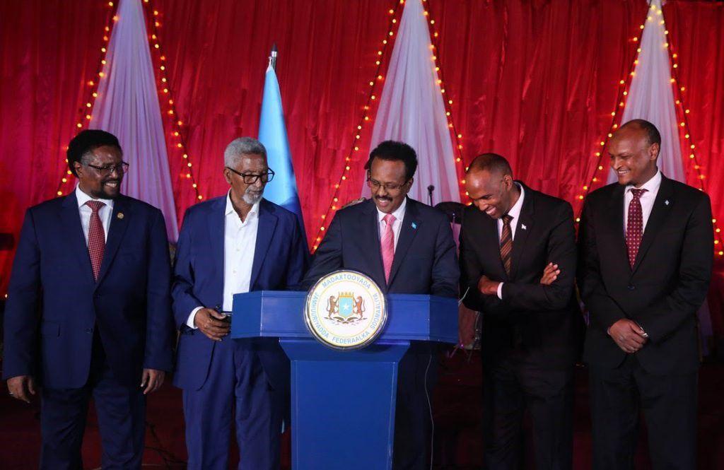 21/02/2020 El presidente de Somalia, Mohamed Abdullahi Farmajo POLITICA AFRICA SOMALIA INTERNACIONAL PRESIDENCIA DE SOMALIA