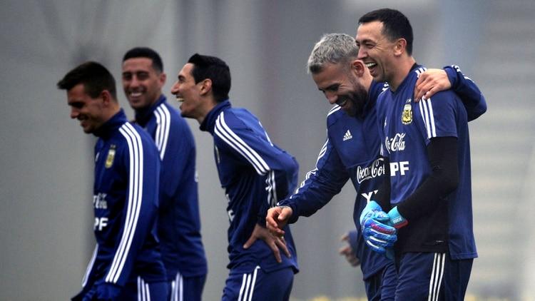 La selección argentina jugará el 15 y 18 de noviembre (Photo by Juan MABROMATA / AFP)