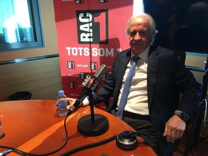 03/12/2020 El presidente de la Comisi�n Gestora del FC Barcelona, Carles Tusquets, en una entrevista en RAC1 DEPORTES RAC1