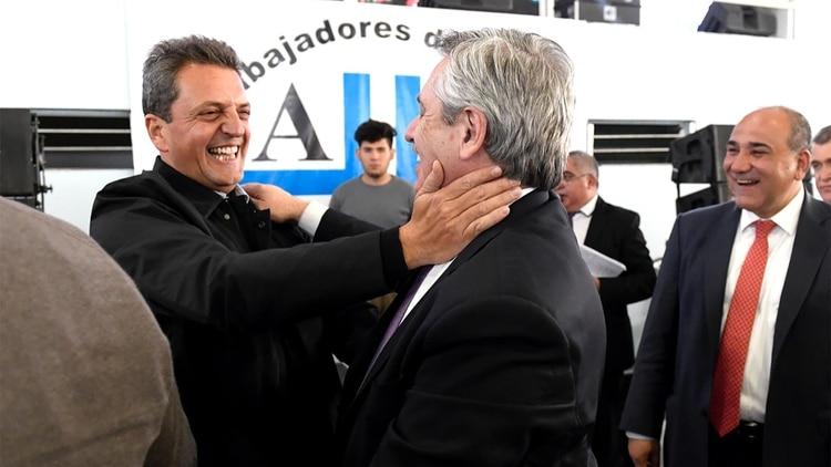 Sergio Massa viajó con Alberto Fernández para el relanzamiento tucumano