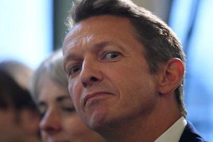FOTO DE ARCHIVO. El economista jefe del Banco de Inglaterra, Andy Haldane, escucha a la audiencia en un evento en el Banco de Inglaterra en la Ciudad de Londres, Londres, Gran Bretaña. 27 de abril de 2018.  REUTERS/Toby Melville