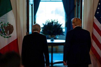 AMLO visitó a Trump el 8 de julio pasado en lo que fue su primer viaje al extranjero en su calidad de mandatario (Foto: EFE)