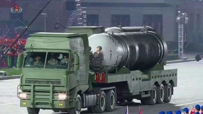 Desfile de misiles en Corea del Norte