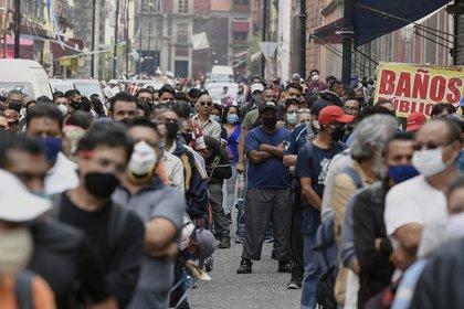 En la Ciudad de México, hasta el 10 de julio de 2020, se confirmaron 56,602 casos positivos de coronavirus (Foto: AFP/Alfredo Estrella)