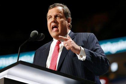 El ex gobernador de Nueva Jersey, el republicano Chris Christie (EFE/Michael Reynolds/Archivo)