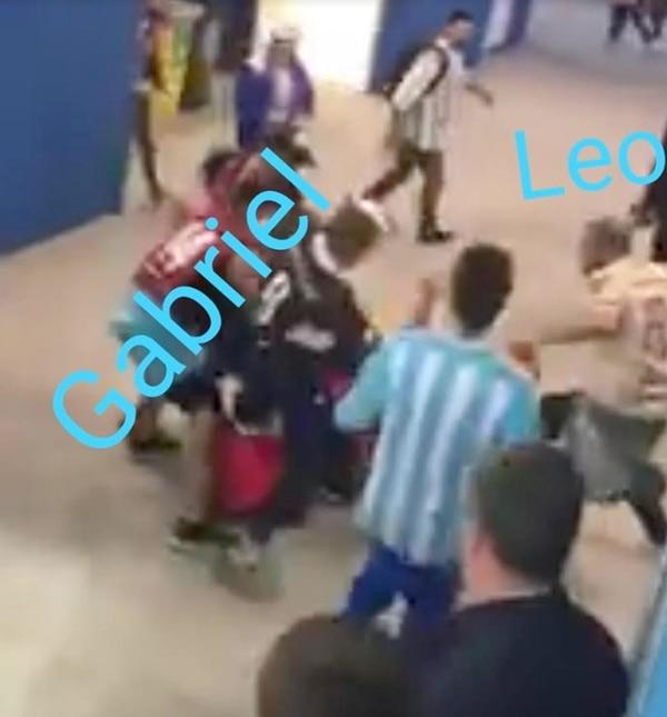 El video publicado por Infobae permitió que los miembros del equipo de Seguridad de la Argentina identificaran a los violentos