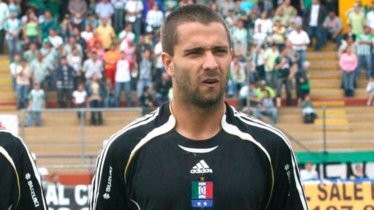 Juan Diego González vistió la camiseta de Once Caldas entre 2006 y 2007