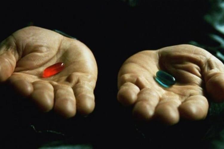 La difícil decisión de volver a la realidad o continuar en el mundo de la matrix (Foto: Captura Yotube)