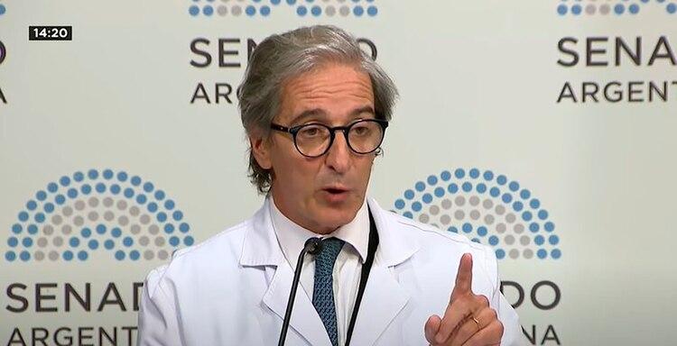El argentino y director médico del Hospital Austral, Fernando Iúdica inauguró el simposio virtual científico en alianza con la Universidad de Navarra que se transmitió a todo el mundo
