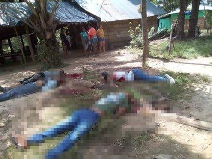 En Zaragoza (Antioquia) hombres armados abrieron fuego en un billar y dejaron cinco muertos.