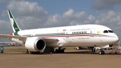 """El avión presidencial que """"no tiene ni Donald Trump"""", dijo López Obrador"""