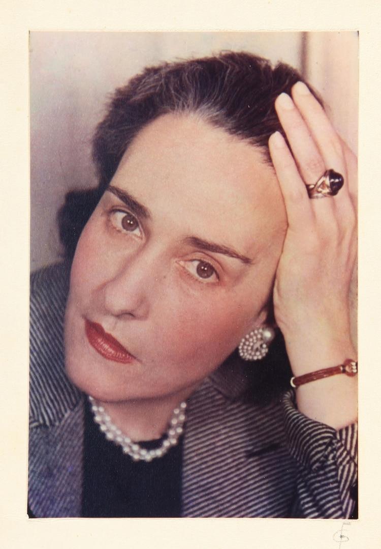 Victoria Ocampo, foto de Gisele Freund, 1939