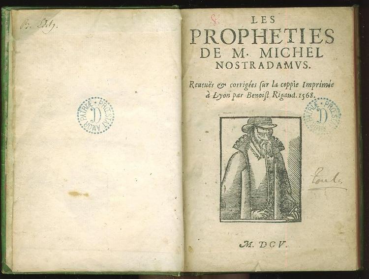 A manera de fabuloso testamento para la Humanidad, Nostradamus dejó escritas en un estilo hermético sus famosas predicciones en