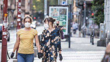 El concepto de inmunidad de rebaño generó una reacción violenta cuando fue mencionado por primera vez por el consejo Científico del Reino Unido en marzo (Shutterstock)