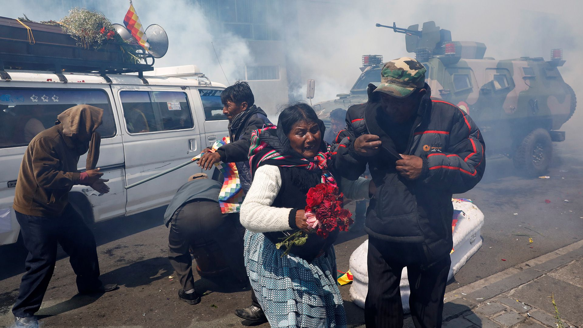 Evo reiteró que fue víctima de un golpe de Estado (REUTERS/Marco Bello)