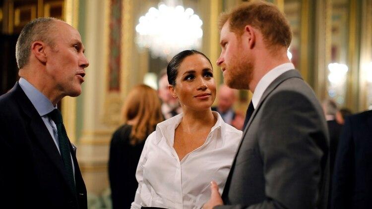Los duques de Sussex esperan su primer hijo para fines de abril