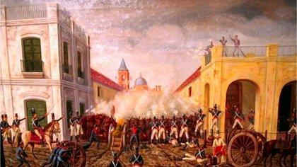 La primera invasión inglesa tuvo lugar a fines  de junio de 1806, y durante un mes y medio Buenos Aires estuvo gobernada por los británicos.