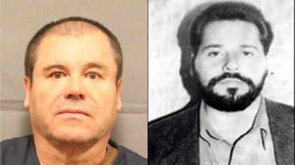 """Ignacio Coronel """"El Nacho"""" o  """"El Rey del Cristal"""" (i) fue el tercero eal mando del Cártel del Sinaloa, tan sólo debajo de """"El Chapo"""" y """"El Mayo"""" (Foto: Archivo)"""