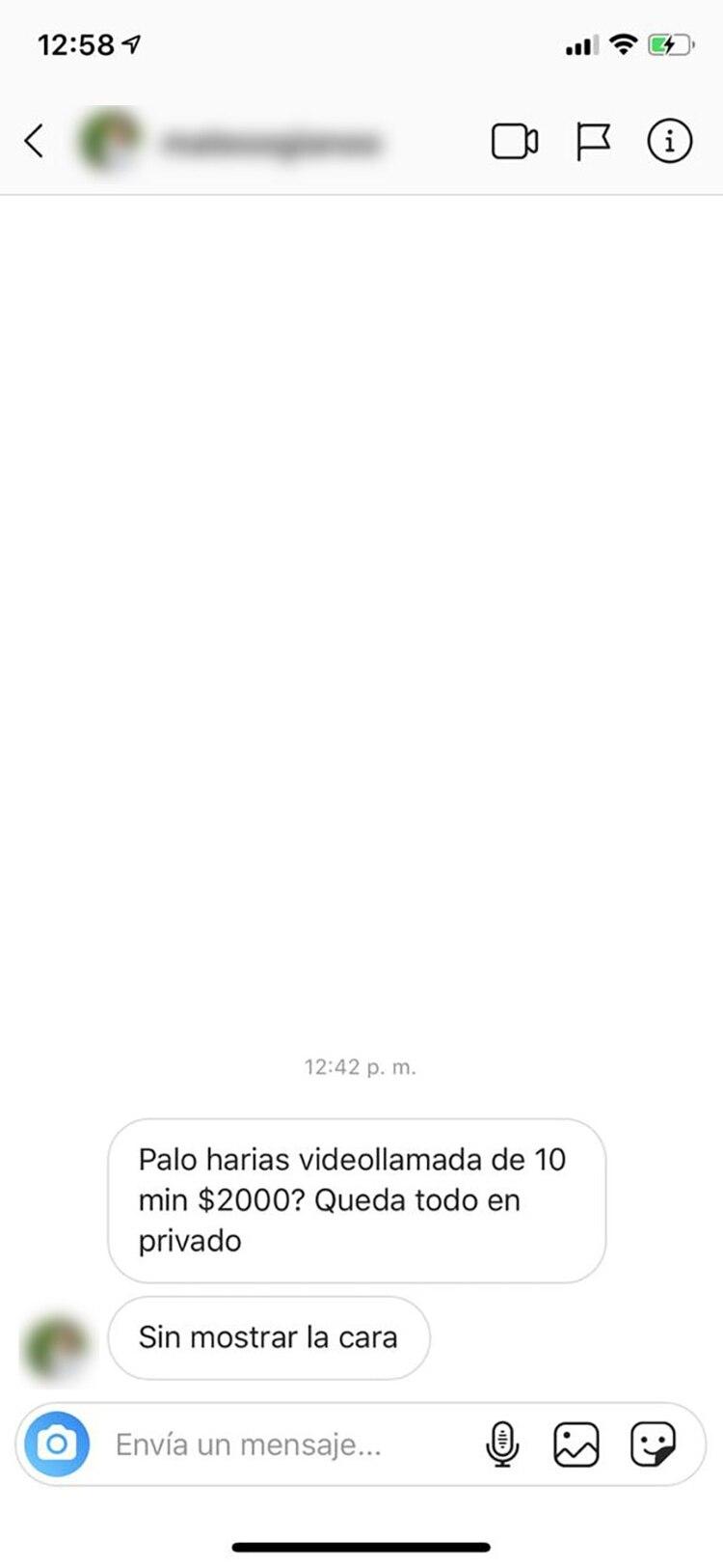 Otro de los mensajes que recibe diariamente la joven de 16 años