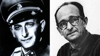 Adolf Eichmann.