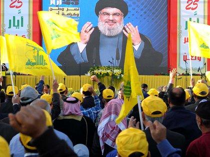 Hassan Nasrallah, jefe terrorista de Hezbollah