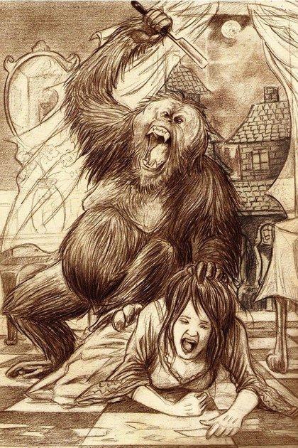 """El orangután asesino de """"Los crímenes de la calle Morgue"""""""