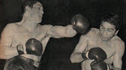 La mítica pelea entre Ringo Bonavena y Goyo Peralta (Archivo Maximiliano Roldán)
